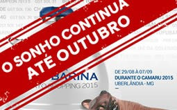 Embryo Shopping Tufubarina 2015 - O Sonho continua....